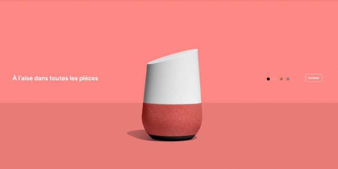 Google Home, l'assistant vocal préféré des Français
