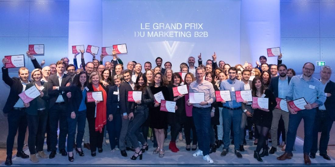 Qui sont les lauréats du Grand Prix du Marketing B2B ?