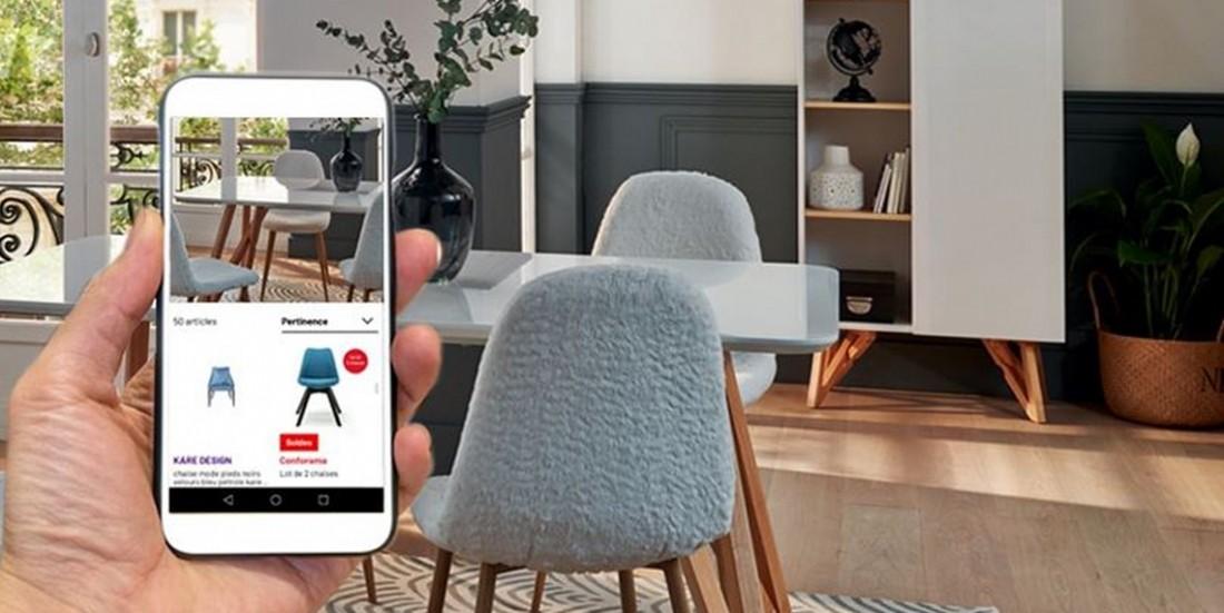 Conforama lance la recherche de produits par photo sur son site marchand
