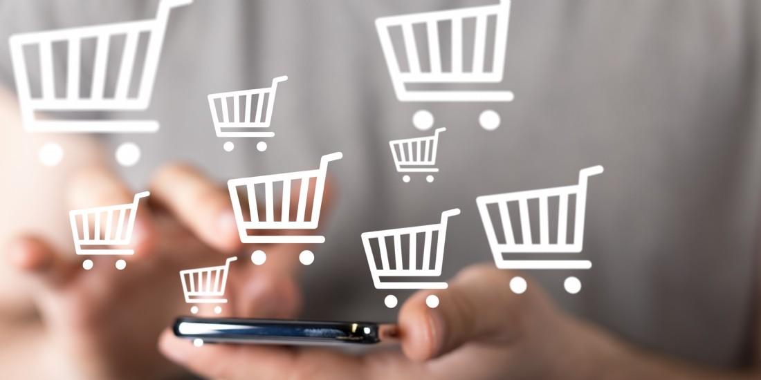 Amazon représente 47% des dépenses en ligne des Français