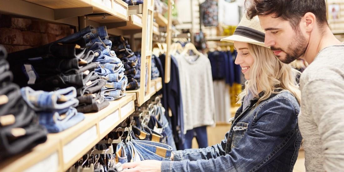 Légère embellie des enseignes de l'habillement et de la chaussure en juin