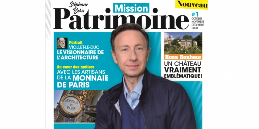 Mission Patrimoine se décline en trimestriel au sein du groupe Reworld Media