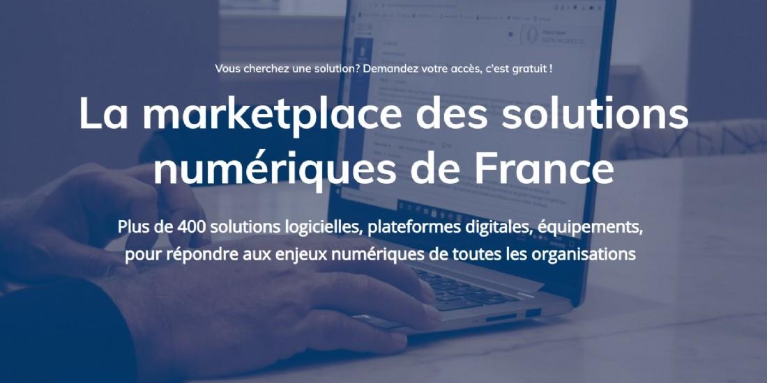 Lancement de SOLAINN, la marketplace des solutions numériques françaises
