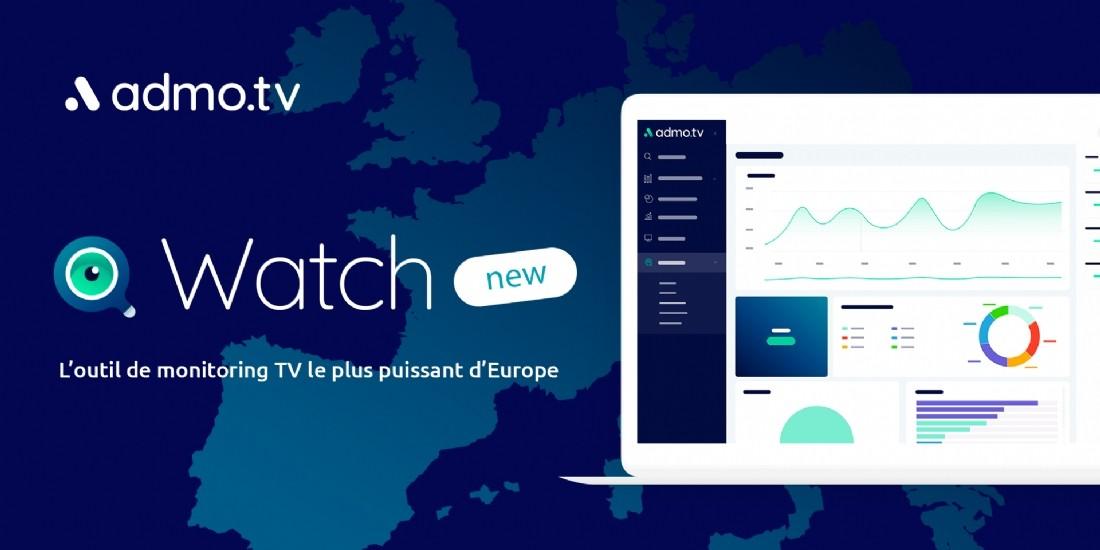 Admo.tv dévoile Watch, pige TV en temps réel