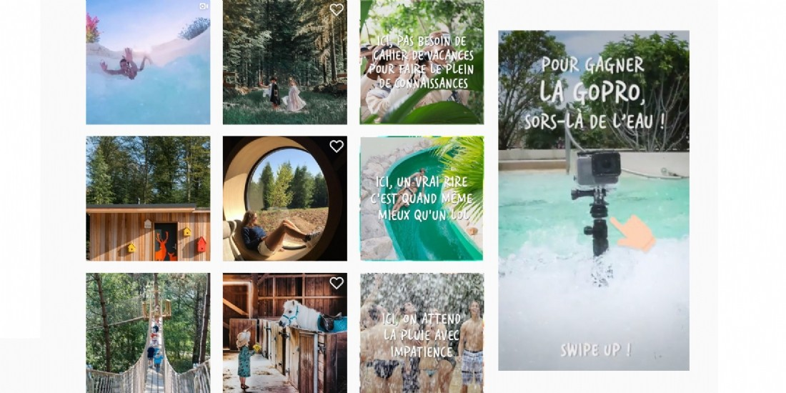 Center Parcs augmente le CA de son social media organique de 84% en 2019