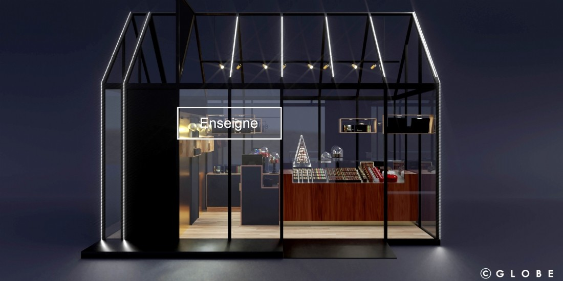 Globe lance POP'UP MALL pour industrialiser le pop-up store