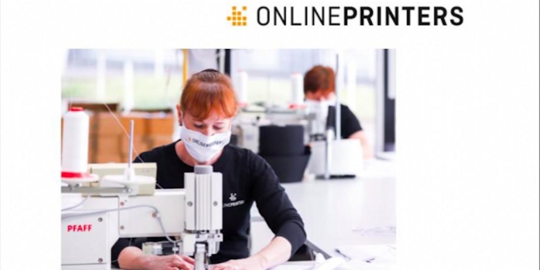 Onlineprinters se lance dans les masques en tissu personnalisables