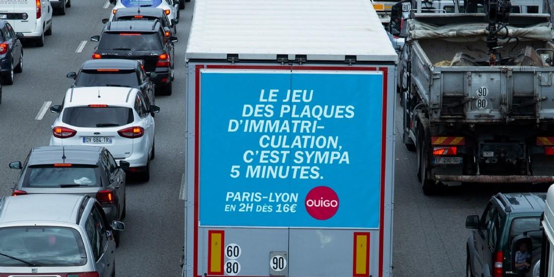 Pub : quels choix et quels résultats pour Ouigo et TGV Inoui cet été ?
