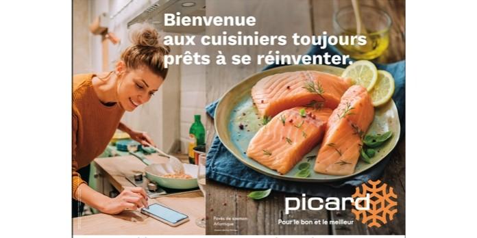 Picard : Découvrez en exclusivité sa nouvelle signature et sa campagne de pub