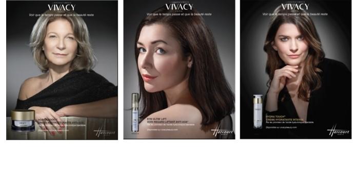 Avec ' V pour la Vie ' les laboratoires Vivacy célèbrent la ' vraie beauté '