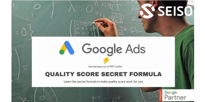 Le formule secrète du Quality Score de Google Ads enfin décryptée ?