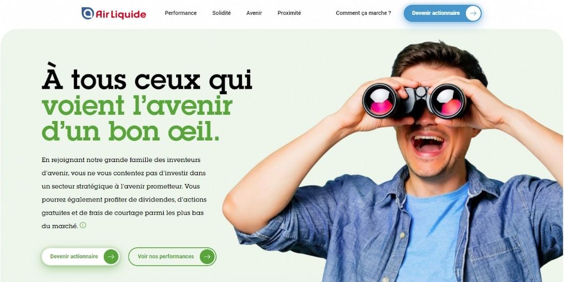 Bourse : Air Liquide veut séduire les nouveaux investisseurs en social media