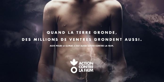 Action contre la faim frappe un grand coup avec sa nouvelle campagne de sensibilisation