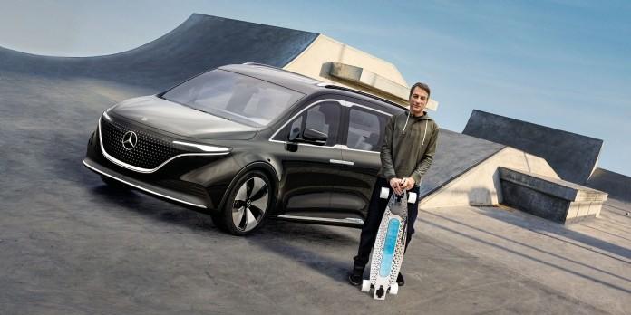 Mercedes Benz fait appel à une superstar pour promouvoir le Concept EQT