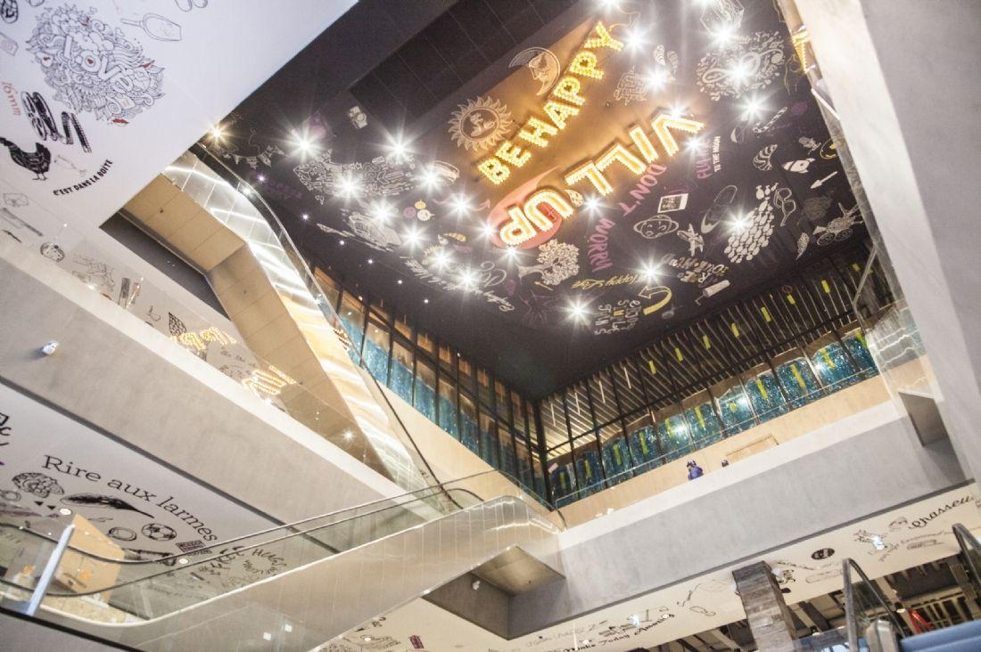Vill 39 up le nouveau centre commercial shopping et fun de la villette - Nouveau centre commercial roncq ...