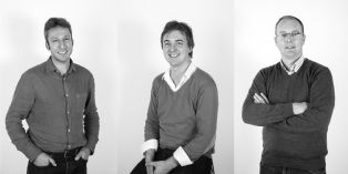 De gauche à droite : Arnaud Santerre, Jean-François Carré et Guillaume Vernier