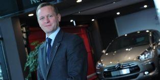 Arnaud Ribault, directeur marketing et ventes monde de la marque DS chez Citroën