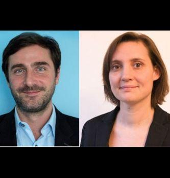 Émilie Vieaud et Alexandre Papas, directeurs associés conseil de iProspect France