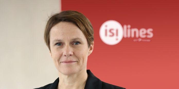 Angélique Mantel est nommée directrice marketing, communication, CRM et digital d'isilines