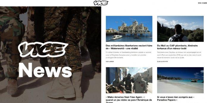 Lancement d'un pôle Stratégie et création chez VICE Media France