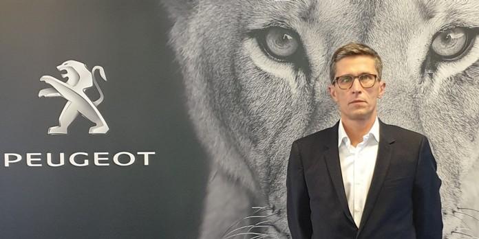 Matthieu Brinon est nommé directeur commercial, marketing et communication chez Peugeot Motocycle